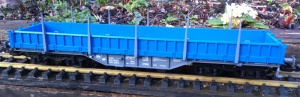 Piko 37763 Pressntiztalbahn Res Low Side Stake Wagon