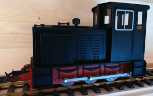 Accucraft Baguley Drewry 0-6-0 Diesel Black