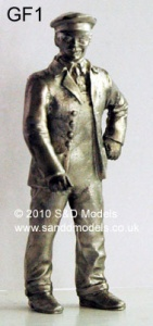 S & D Models G Scale Figures