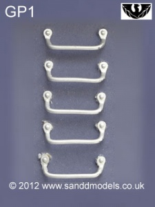 S&D Models GP1 20mm Grab Handles (5 Pack)