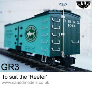 S & D Models 'Reefer' detailing kit GR3