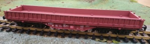 Piko 37760 DB AG Low Sided Bogie Wagon