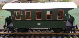 Piko 37920 DB 2nd class 4 wheel coach