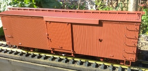 Bachmann Spectrum 88099 Box car painted unlettered