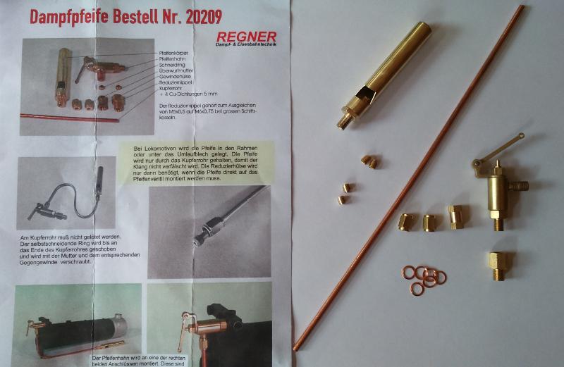 Regner Whistle Kit 20209