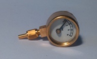 1/2'' Pressure Gauge 0-6bar or 0-100lb/in