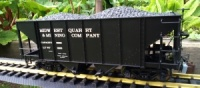 Bachmann Spectrum 88996 Two Bay Steel Hopper MIDWEST QUARRY & MINING COMPANY