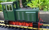 Accucraft Baguley Drewry 0-6-0 Diesel Green