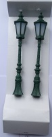 Busch 8621 Green Gas Lamps (Pair)