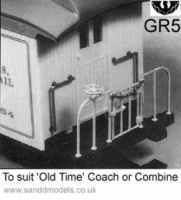 S & D Models Coach or Combine detailing kit GR5