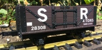 L&B Open Wagon SR Brown R19-1B