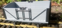 L&B Open Wagon R19-1 Data only in Grey or SR Brown or SR Numbered