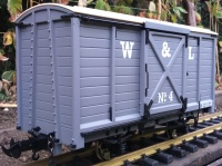 W&L Goods wagon light grey R19-5A