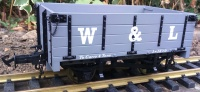 W&L Open Wagon light grey R19-3A