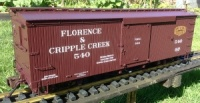 Bachmann Spectrum 88097 Florence & Cripple Creek box car