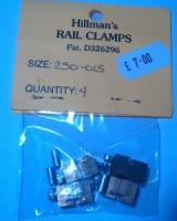 Hillmans 250-01S Power supply clamps