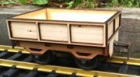 Low sided wagon kit Regner 25432