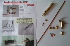 Regner Whistle Kit 20209