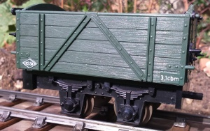 Regner 70070 High sided small open wagon kit