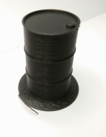 16mm scale 3d printed Oil Drum