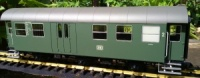 Piko 37602 DB Rebuilt 6 Wheeled Coach 2nd Class with luggage compartment