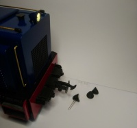 16mm Scale 3d printed Diesel Loco lamps (pair)